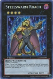 Yu-Gi-Oh Generation Force 1st Edition Single Steelswarm Roach Secret Rare