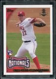 2016 Topps Baseball Hawaii Summit Exclusive Berger's Best #BB-59 Stephen Strasburg 2010 Rookie Reprint 1/1