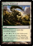 Magic the Gathering Worldwake Single Stirring Wildwood UNPLAYED (NM/MT)