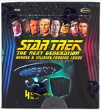 Star Trek: The Next Generation Heroes & Villains Trading Card Box (Rittenhouse 2013)
