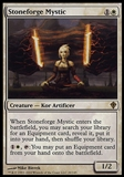 Magic the Gathering Worldwake Single Stoneforge Mystic FOIL - SLIGHT PLAY (SP)