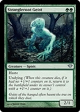 Magic the Gathering Dark Ascension Single Strangleroot Geist Foil