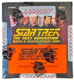 Star Trek: The Next Generation Heroes & Villains Trading Cards Archives Box (Rittenhouse 2013)