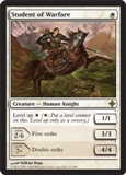 Magic the Gathering Rise of the Eldrazi Single Student of Warfare UNPLAYED (NM/MT)