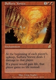 Magic the Gathering Scourge Single Sulfuric Vortex - SLIGHT PLAY (SP)