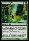 Magic the Gathering Zendikar Single Summoning Trap - SLIGHT PLAY (SP)