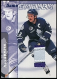 2000/01 BAP Signature Series Jersey Emblems Patch #E15 Mats Sundin SP /10
