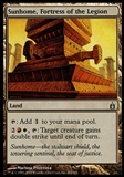 Magic the Gathering Ravnica City of Guilds Sunhome Fortress of the Legion FOIL - SP