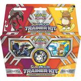 Pokemon Sun & Moon Trainer Kit - Lycanroc & Alolan Raichu