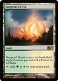 Magic the Gathering 2013 Single Sunpetal Grove UNPLAYED NM/MT