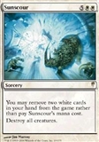 Magic the Gathering Coldsnap Single Sunscour UNPLAYED (NM/MT)