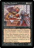 Magic the Gathering Visions Single Suq'Ata Assassin - NEAR MINT (NM)