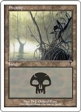 Magic the Gathering 7th Edition Single Swamp (346) FOIL