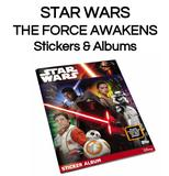 Star Wars: The Force Awakens Sticker Album (Topps 2016)