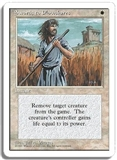 Magic the Gathering 4th Edition Single Swords to Plowshares LIGHT PLAY (NM)