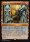 Magic the Gathering Kaladesh Inventions Single Sword of Body and Mind Foil NEAR MINT (NM)