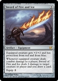 Magic the Gathering Modern Masters Single Sword of Fire and Ice UNPLAYED (NM/MT)