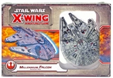 Star Wars X-Wing Miniatures Game: Millenium Falcon Expansion Pack