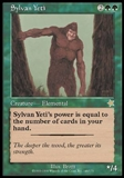Magic the Gathering Starter Single Sylvan Yeti UNPLAYED (NM/MT)
