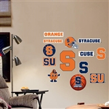 Fathead Syracuse Orange Junior Logo Set Wall Graphic