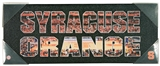 Syracuse Orange Artissimo Team Pride Basketball 20x8 Canvas