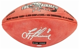 Troy Aikman Autographed Dallas Cowboys Official Wilson Football #192/2000 (Mounted Memories)