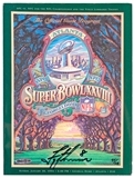 Troy Aikman Autographed Dallas Cowboys Super Bowl XXVIII Official Game Program (UDA)