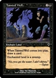 Magic the Gathering Invasion Single Tainted Well FOIL