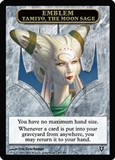 Magic the Gathering Avacyn Restored Single Tamiyo Emblem UNPLAYED