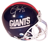 Lawrence Taylor Autographed New York Giants Authentic Proline Helmet (Mounted Memories)
