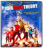 The Big Bang Theory Season 5 Trading Cards Binder