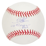 Tim Beckham Autographed Tampa Bay Rays Official Major League Baseball