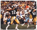 Terry Bradshaw Autographed Pittsburgh Steelers 16x20 Photograph (Tristar & Steiner)