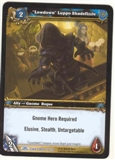 WoW Dark Portal Single Lowdown Luppo Shadefizzle (TDP-177) LIGHT PLAY