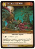 WoW Dark Portal Single The Haunted Mills (TDP-301) NM/MT