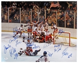 "1980 Team USA ""Miracle on Ice"" Autographed 16x20 Hockey Photo (JSA)"