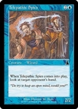 Magic the Gathering Urza's Destiny Single Telepathic Spies Foil