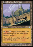 Magic the Gathering Scourge Single Temple of the False God FOIL - NEAR MINT (NM)