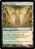 Magic the Gathering Return to Ravnica Single Temple Garden - NEAR MINT (NM)