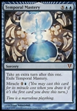 Magic the Gathering Avacyn Restored Single Temporal Mastery - SLIGHT PLAY (SP)