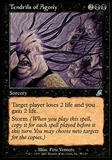Magic the Gathering Scourge Single Tendrils of Agony FOIL - SLIGHT PLAY (SP)