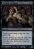 Magic the Gathering Promotional Single Tendrils of Agony Foil (DCI)