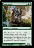Magic the Gathering Worldwake Single Terastodon UNPLAYED (NM/MT)