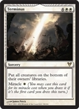 Magic the Gathering Avacyn Restored Single Terminus - NEAR MINT (NM)