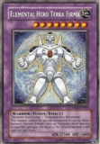Yu-Gi-Oh Premium Pack 2 Single Elemental Hero Terra Firma Secret Rare