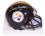 Terry Bradshaw Autographed Pittsburgh Steelers Mini Helmet (Bradshaw Hologram)
