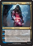 Magic the Gathering Mirrodin Besieged Single Tezzeret, Agent of Bolas - SLIGHT PLAY (SP)