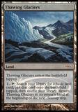 Magic the Gathering Promotional Single Thawing Glaciers JUDGE FOIL - NEAR MINT (NM)