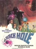 Black Hole The Movie Wax Box (1979 Topps)