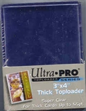 Ultra Pro 3x4 Thick 55pt. Toploaders 1000 Count Case (Action)